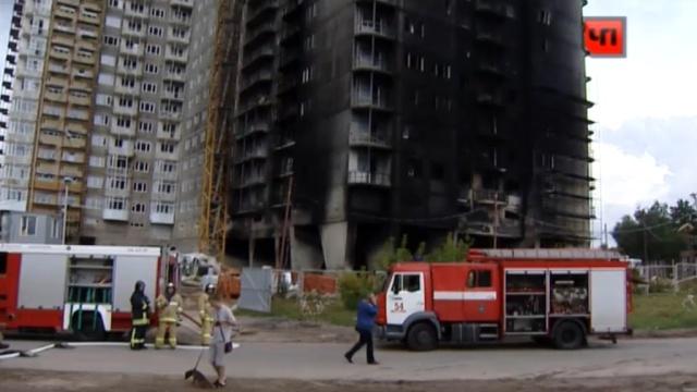 Крупный пожар на западе столицы произошел из-за халатности строителей.возгорание, Москва, новостройки, пожарные, пожары, рабочие, спасение.НТВ.Ru: новости, видео, программы телеканала НТВ