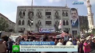 <nobr>«Братья-мусульмане</nobr>» иполиция обвиняют друг друга вгибели египтян на улицах