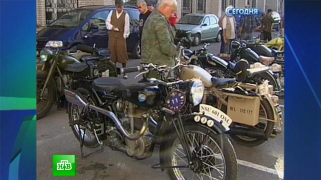 Эстонец Арно обогнал конкурентов на мотоцикле сзаклеенным спидометром.гонки, мотоциклы, Санкт-Петербург.НТВ.Ru: новости, видео, программы телеканала НТВ