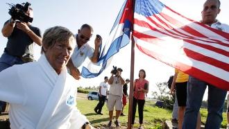 Беззащитная американка плыла сКубы вСША 53часа