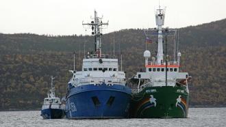 Greenpeace: наркотики на Arctic Sunrise использовались для медицины
