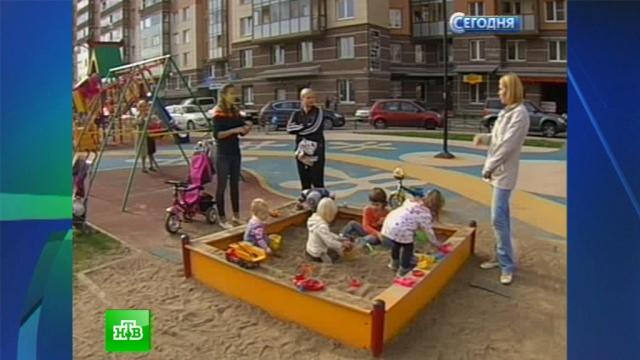 Детям петербургских новостроек не возводят садиков рядом с домом.дети, детские сады, Санкт-Петербург, строительство.НТВ.Ru: новости, видео, программы телеканала НТВ