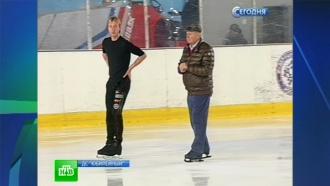 Плющенко набирает олимпийскую форму на питерском льду