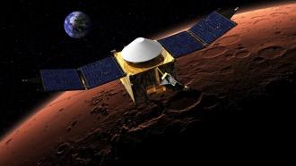 NASA успешно запустило аппарат MAVEN к Марсу
