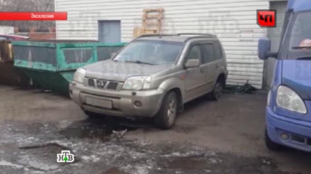 Угонщики покатались на украденном автомобиле и вернули его на стоянку.Nissan, автомобиль, Москва, парковка, угон, эксклюзив.НТВ.Ru: новости, видео, программы телеканала НТВ