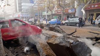 До 47возросло количество жертв взрыва на китайском нефтепроводе