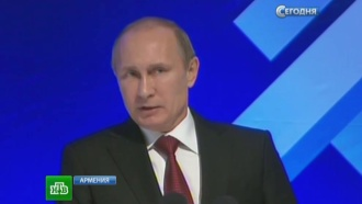 Путин одобрил стремление Армении в Таможенный союз
