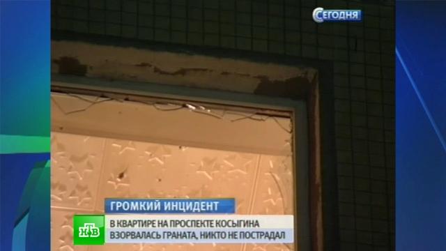 В Петербурге молодой человек «по неосторожности» взорвал дома гранату.взрыв, граната, оружие, Санкт-Петербург.НТВ.Ru: новости, видео, программы телеканала НТВ