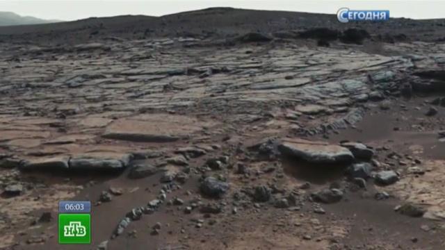 Из обнаруженного на Марсе древнего озера можно было пить.NASA, космос, Марс, наука, ученые.НТВ.Ru: новости, видео, программы телеканала НТВ