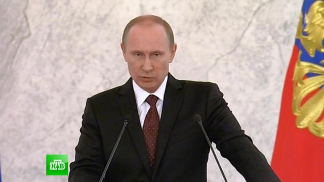 «Это в ваших интересах»: Путин поручил утвердить новые профстандарты.политика, послание президента, Путин, указы.НТВ.Ru: новости, видео, программы телеканала НТВ