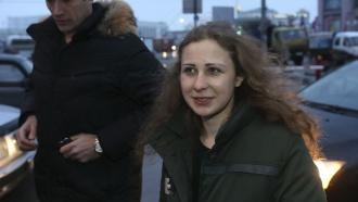 Сразу после освобождения бодрая Алёхина встретилась справозащитниками