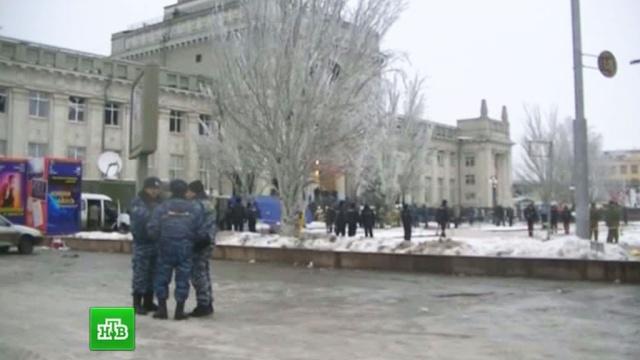 Вокзал Волгограда частично открыли для пассажиров, место взрыва огорожено.взрывы, вокзалы, Волгоград, проверки, теракты, террористы, троллейбусы.НТВ.Ru: новости, видео, программы телеканала НТВ