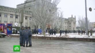 Вокзал Волгограда частично открыли для пассажиров, место взрыва огорожено