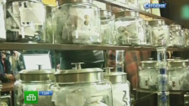 Власти США потратят деньги от продажи марихуаны на борьбу снаркобизнесом.наркотики, продажа, США.НТВ.Ru: новости, видео, программы телеканала НТВ