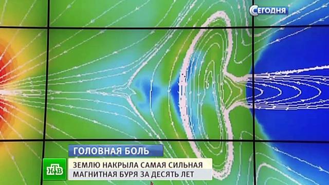 Магнитной бури на Солнце стоит опасаться пассажирам некоторых самолетов.Земля, магнитные бури, Солнце.НТВ.Ru: новости, видео, программы телеканала НТВ