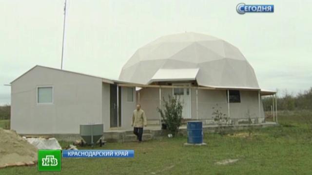 Краснодарский край застраивают экономными умными домами.Краснодарский край, строительство, электричество.НТВ.Ru: новости, видео, программы телеканала НТВ
