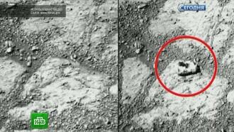 Opportunity прислал на Землю фото загадочного марсианского камня