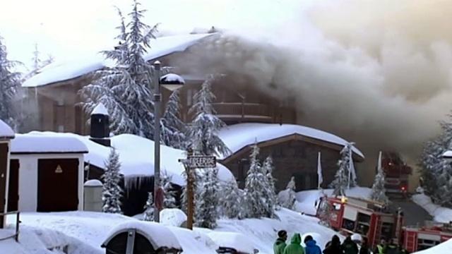 Русские туристы сожгли элитный горнолыжный отель в Испании.Испания, россияне, туристы, отель, пожары, горные лыжи, курорт.НТВ.Ru: новости, видео, программы телеканала НТВ