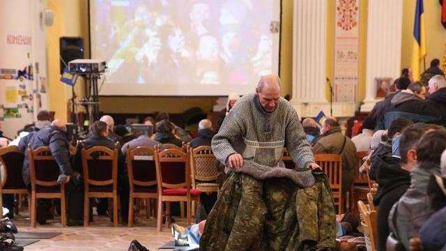 Оппозиция превратит отбитый умилиции Украинский дом впресс-центр.беспорядки, милиция, оппозиция, СМИ, Украина.НТВ.Ru: новости, видео, программы телеканала НТВ