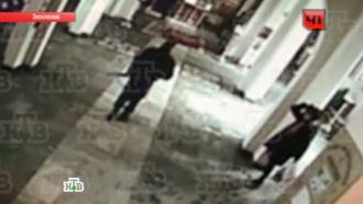 Сахалинского стрелка сняла в храме камера наблюдения: эксклюзив НТВ