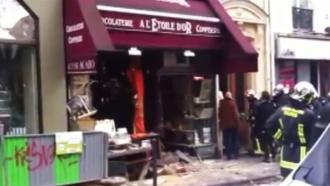Пятеро рабочих пострадали при взрыве на шоколадной фабрике в Париже