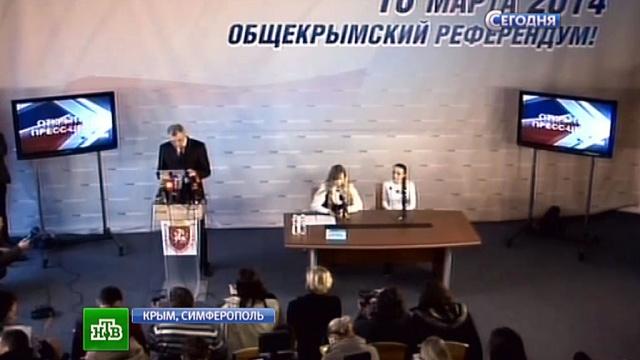 Крымский референдум перевалил за экватор: явка 54%.Крым, Лавров, националисты, США, Украина.НТВ.Ru: новости, видео, программы телеканала НТВ