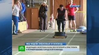 Петербуржцев приглашают освоить бобслей и скелетон