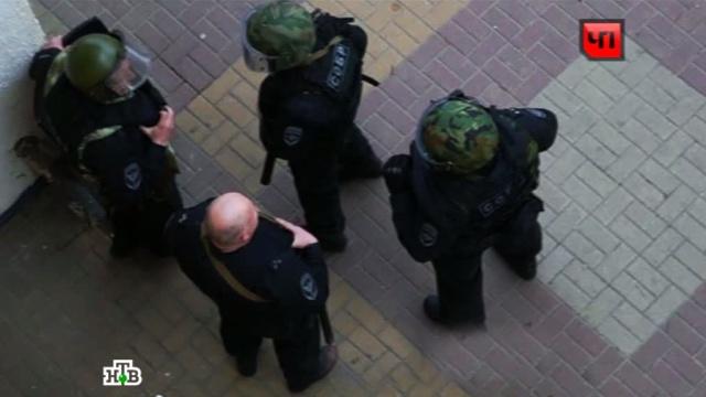 Жители Белгорода сняли спецоперацию по освобождению банка на камеры.банки, Белгород, заложники, налетчики.НТВ.Ru: новости, видео, программы телеканала НТВ