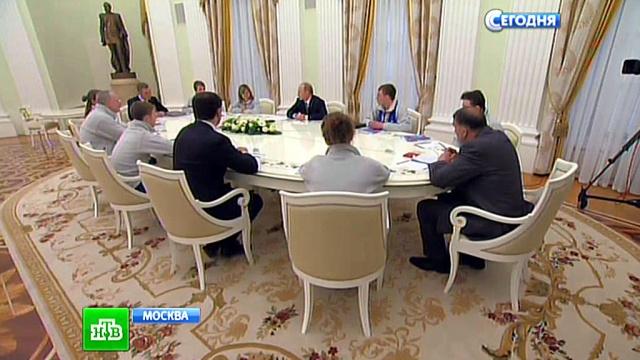 «Всех напугали»: Путин признался, что переживал за юных полярников.Астахов, молодежь, Путин, Северный полюс, экспедиции.НТВ.Ru: новости, видео, программы телеканала НТВ