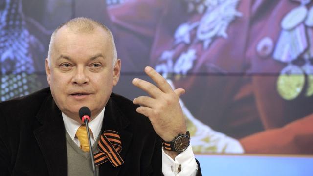 Журналист Дмитрий Киселёв празднует юбилей.журналисты, поздравления, СМИ, юбилей.НТВ.Ru: новости, видео, программы телеканала НТВ