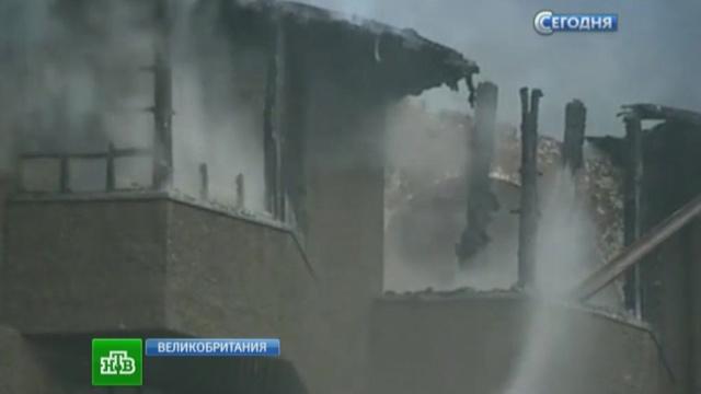 Мощный пожар изуродовал старинное здание Школы искусств вГлазго.архитектура, памятники, пожар, Шотландия.НТВ.Ru: новости, видео, программы телеканала НТВ