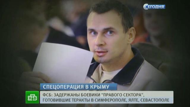 Задержанные ФСБ диверсанты «Правого сектора» хотели отнять Крым у России.Крым, Правый сектор, ФСБ, задержание, режиссеры, теракт, террористы.НТВ.Ru: новости, видео, программы телеканала НТВ