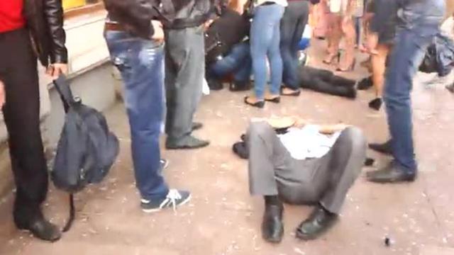 ВДТП савтобусом вПетеребурге пострадали 22человека.ДТП, Невский проспект, Санкт-Петербург, водитель, пешеходы.НТВ.Ru: новости, видео, программы телеканала НТВ