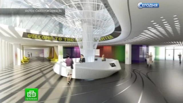 Питерские студенты спроектировали центр занимательной науки в будущем небоскребе.Санкт-Петербург, архитектура, небоскребы, строительство.НТВ.Ru: новости, видео, программы телеканала НТВ