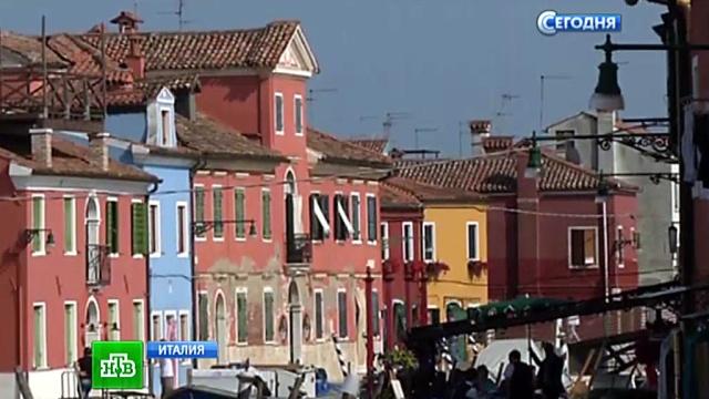 Жители массово покидают уникальный венецианский остров Бурано.Венеция, Италия, острова, туризм, туристы.НТВ.Ru: новости, видео, программы телеканала НТВ