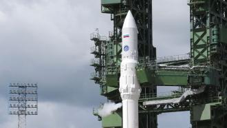 Скосмодрома Плесецк стартовала <nobr>ракета-носитель</nobr> «Ангара»