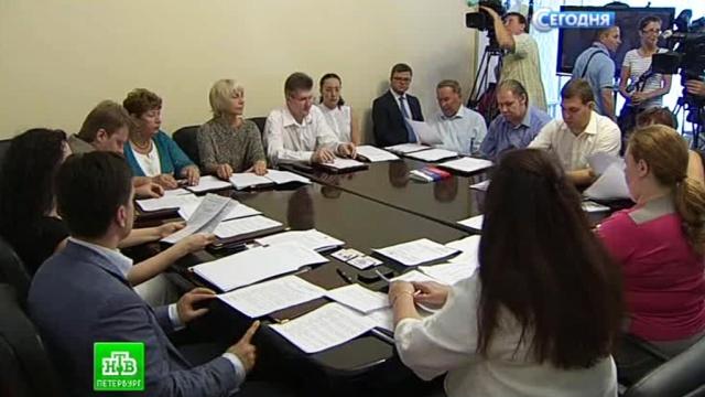 В Петербурге определили кандидатов на пост губернатора.Санкт-Петербург, выборы, губернаторы.НТВ.Ru: новости, видео, программы телеканала НТВ