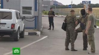 На КПП «Гуково» российских таможенников сфотокамерами обстреляли сукраинской стороны