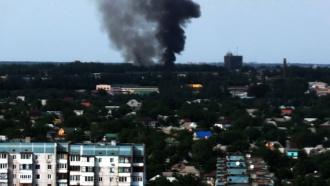Российский пункт пропуска «Гуково» пострадал <nobr>из-за</nobr> боев на территории Украины