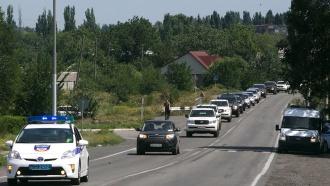 Наблюдатели ОБСЕ добрались до <nobr>российско-украинской</nobr> границы