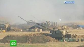 Израиль ввел танки в сектор Газа