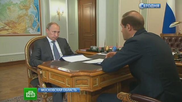 Глава Минпромторга рассказал Путину одвухмоторном «Рысачке».Путин, авиация, промышленность, самолеты.НТВ.Ru: новости, видео, программы телеканала НТВ