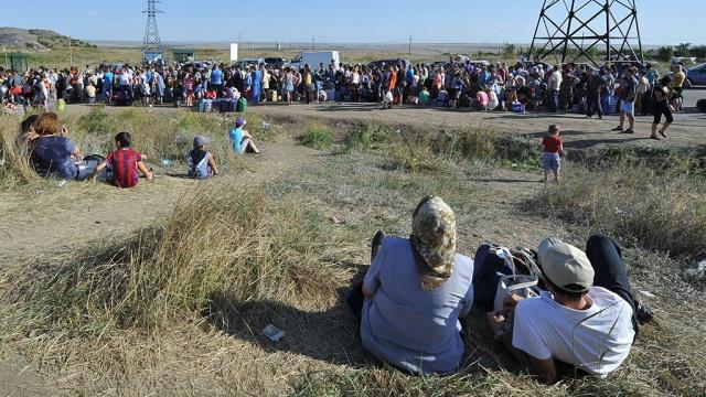 ООН: сУкраины вРоссию бежали 730тысяч человек.беженцы, войны и вооруженные конфликты, ООН, Украина.НТВ.Ru: новости, видео, программы телеканала НТВ