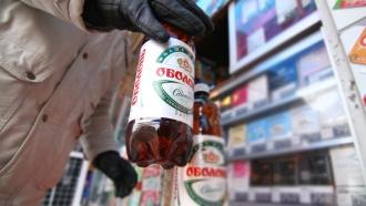 Роспотребнадзор запретил ввоз вРФ спиртных напитков ипива сУкраины