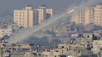 Израиль ударил по сектору Газа вответ на ракетный обстрел