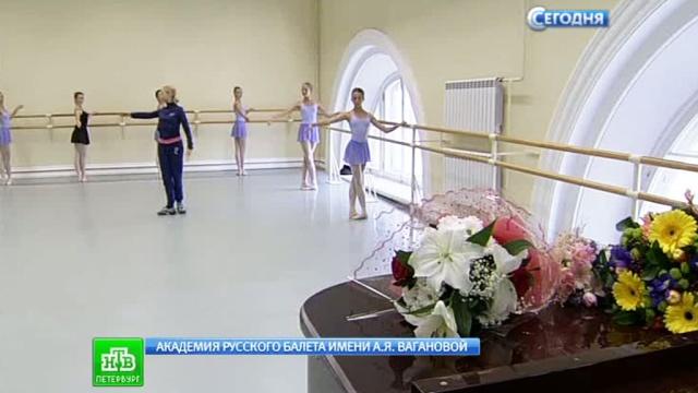 В День знаний юным балеринам подарили элегантную форму.1 сентября, Санкт-Петербург, балет, дети и подростки, торжества и праздники, школы.НТВ.Ru: новости, видео, программы телеканала НТВ