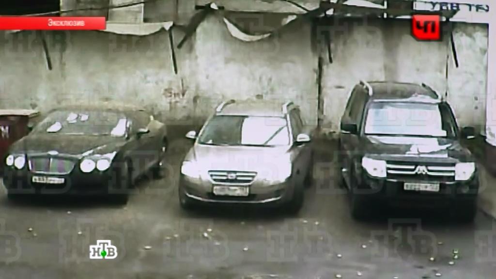 басманный переулок облили бетоном бентли показать видео