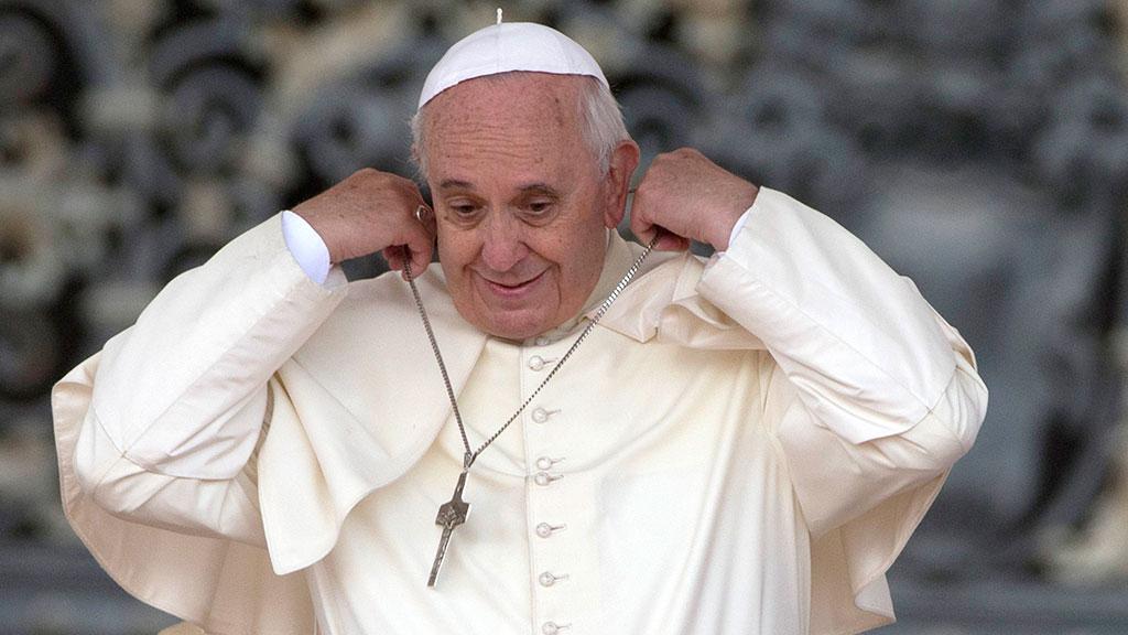 Папа римский картинки смешные