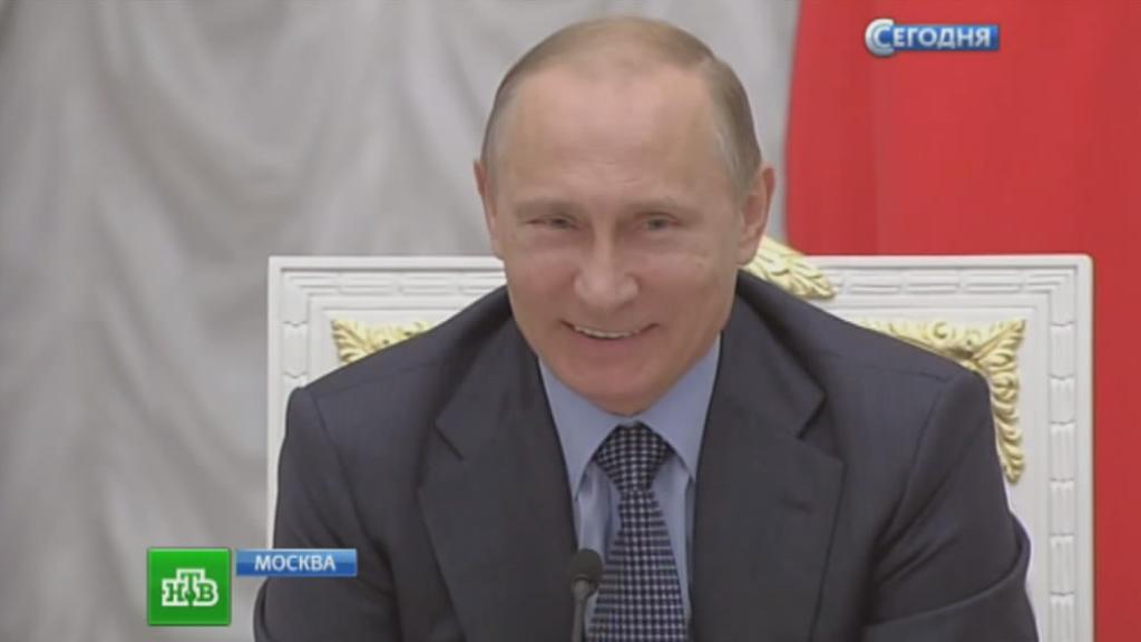 День с Путиным нтв фото