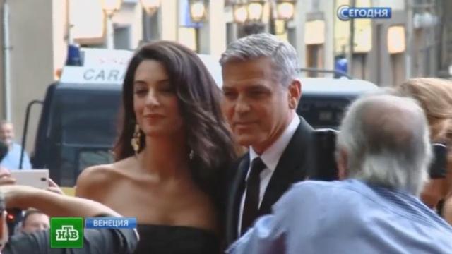 Свадьба Джорджа Клуни иАмаль Аламуддин окутана завесой тайны.Венеция, Голливуд, Италия, Клуни, артисты, браки и разводы, знаменитости.НТВ.Ru: новости, видео, программы телеканала НТВ